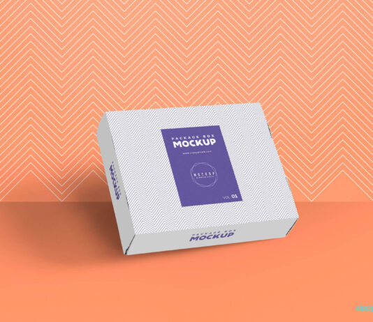 Free Gorgeous Box Packaging Mockup PSD Template (1)