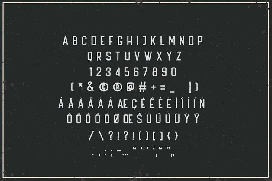 Free Handler Vintage Sans Serif Font2 (1)