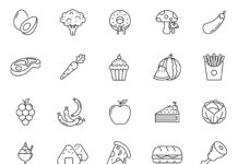 Free Healthy Food Vector Icons (1)
