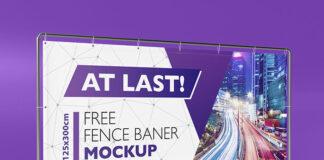 Free Horizontal Banner Mockup PSD Template (1)