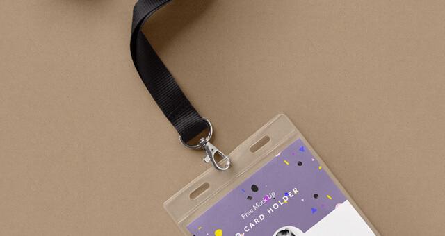 Free Identity Card Holder Mockup PSD Template3 (1)