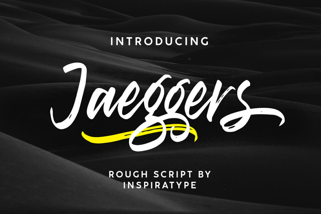 Free Jaeggers Script Font (1)