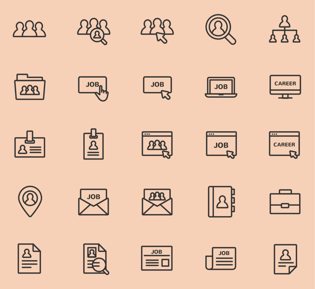 Free Jobs and Careers Vector Icons (1)