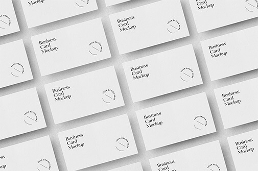 Free Laid Out Business Cards Mockup PSD Templates1 (1)