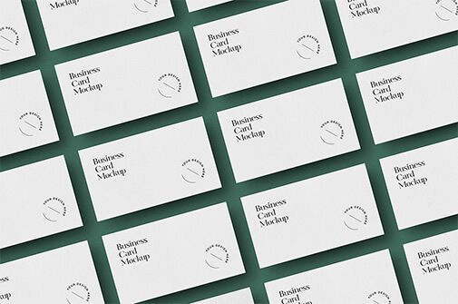 Free Laid Out Business Cards Mockup PSD Templates2 (1)