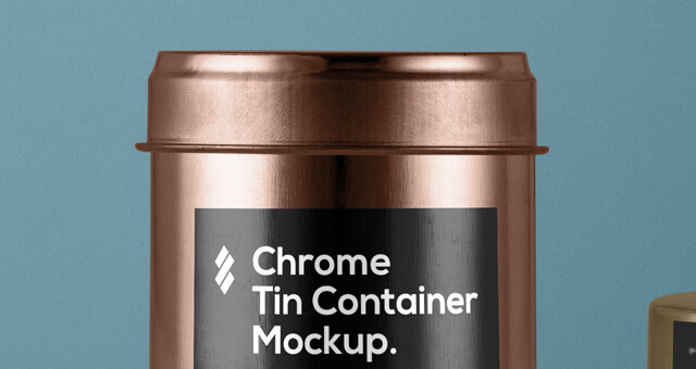 Free Metallic Tin Container Packaging Mockup PSD Template1 (1)