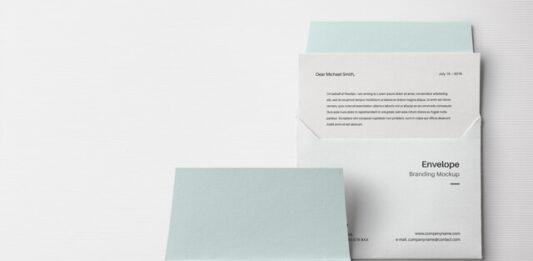 Free Original Envelope Letter Mockup PSD Template (1)