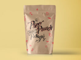 Free Paper Pouch Packaging Mockup PSD Template (1)