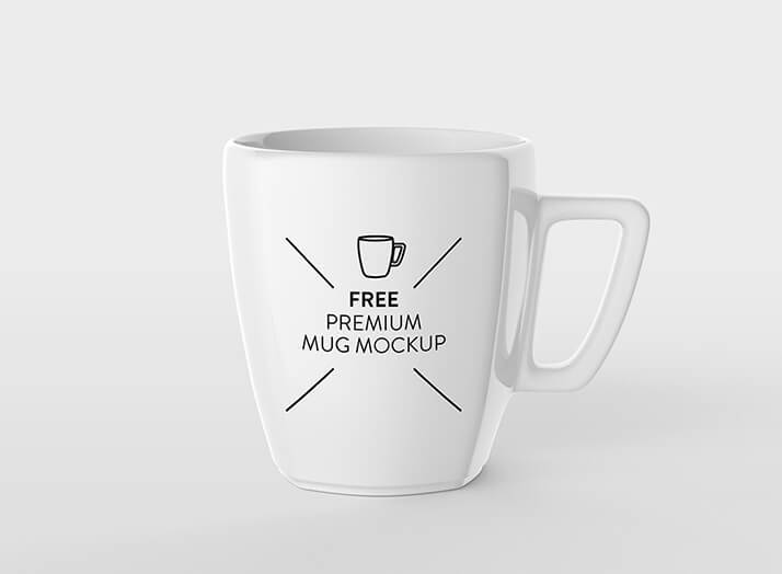 Free Pearl White Mug Mockup PSD Template (1)