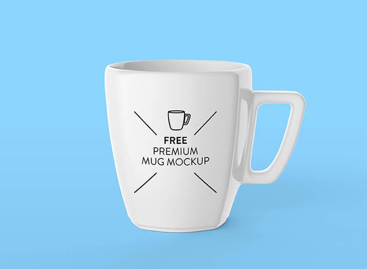 Free Pearl White Mug Mockup PSD Template1 (1)