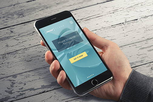 Free Real Photo IPhone Mockup PSD Template1 (1)
