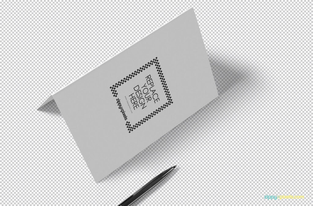 Free Stylish Invitation Card Mockup PSD Template (1)