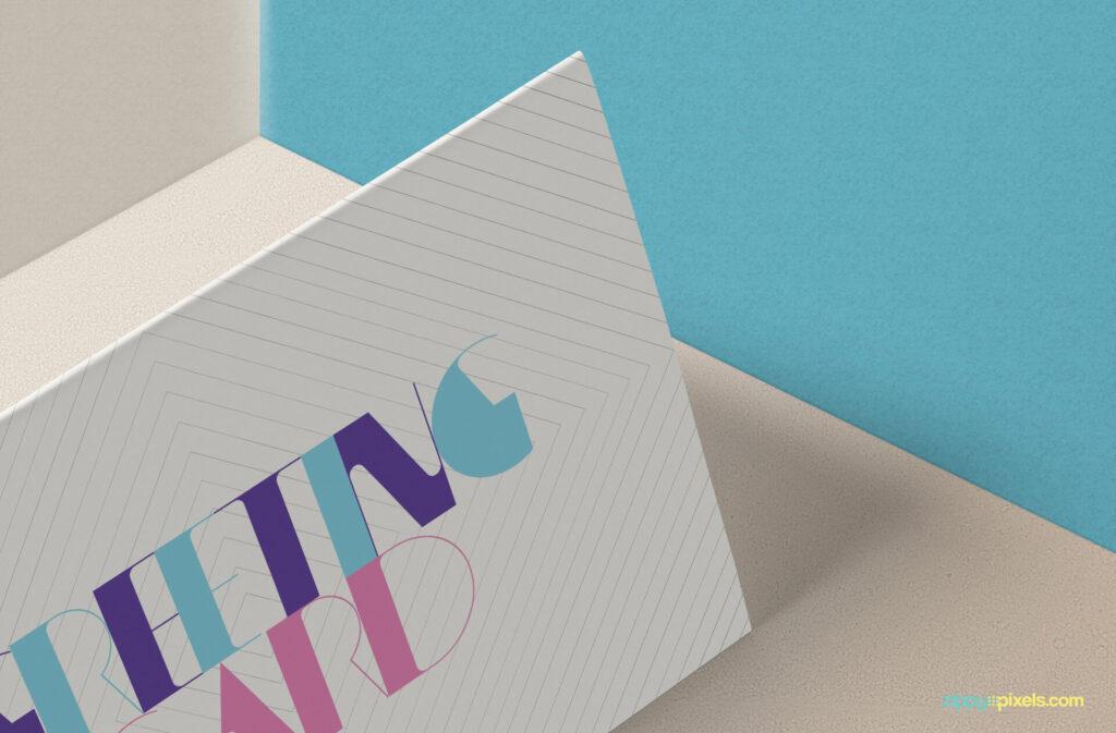 Free Stylish Invitation Card Mockup PSD Template2 (1)