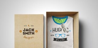 Free T-Shirt Box Edition Mockup PSD Template (1)