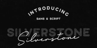 Free The Silverstone Collection Font (1)