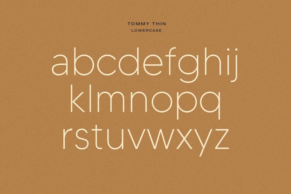 Free Tommy Sans Serif Font2 (1)