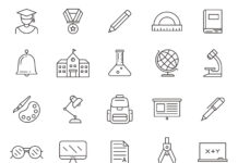 Free Usable Education Vector Icons (1)