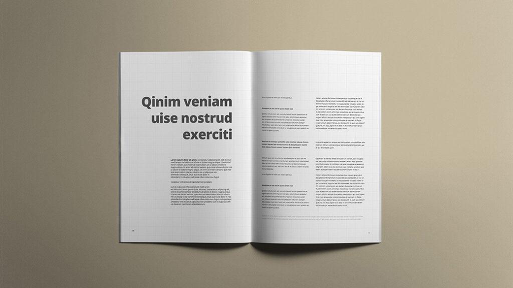 Free White A4 Brochure Mockups PSD Templates (1)