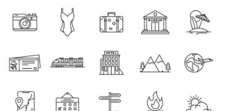 Free World Travel Vector Icons (1)