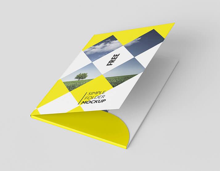 Free Yellow Folder Mockup PSD Template2 (1)
