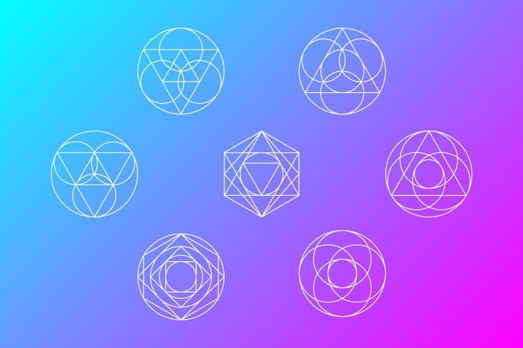 Geometric Shapes Set of 7 (1)