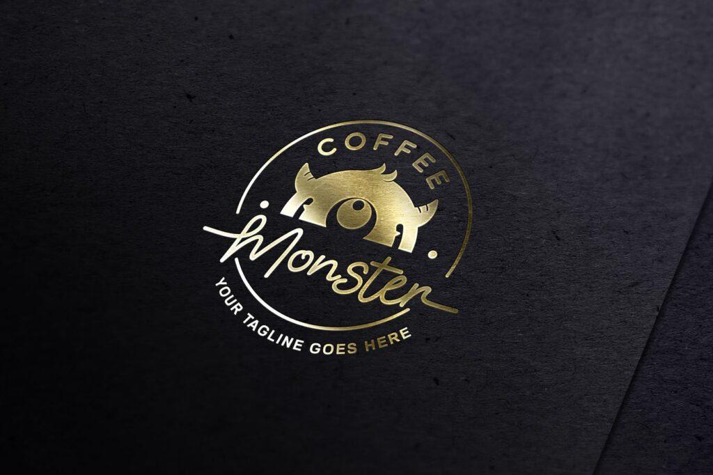 Gold Foil Logo Mockup (1)