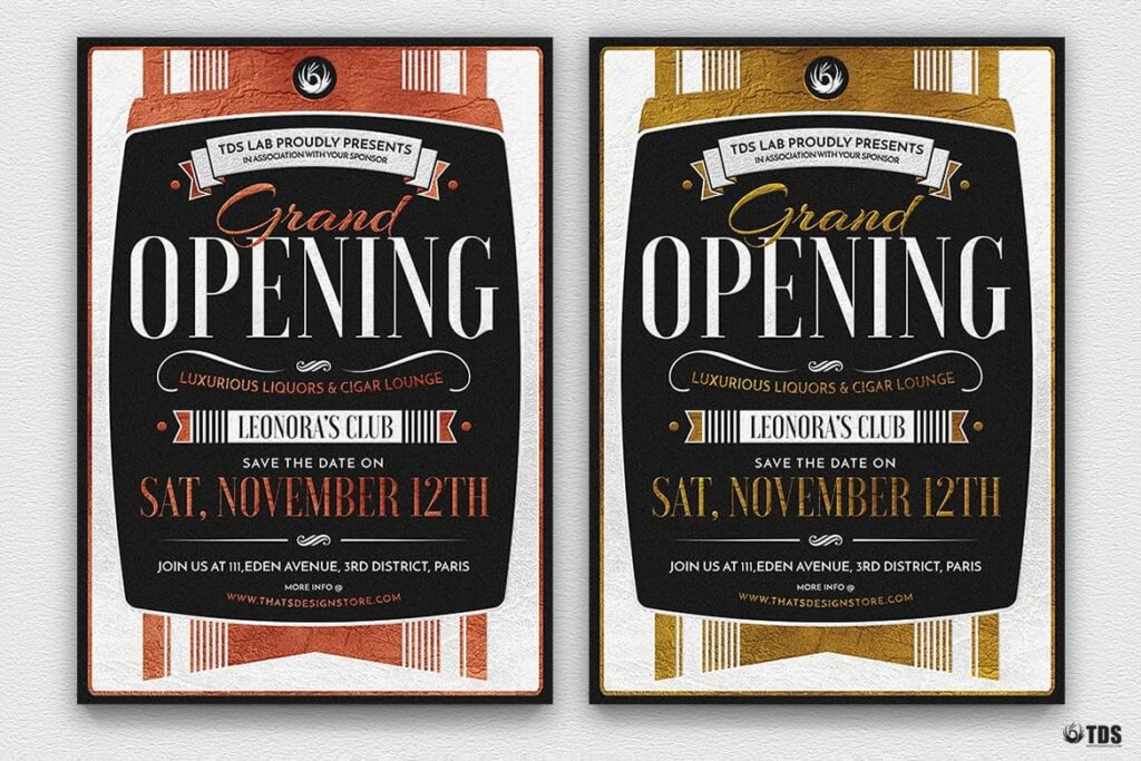 Grand Opening Flyer Template (1)