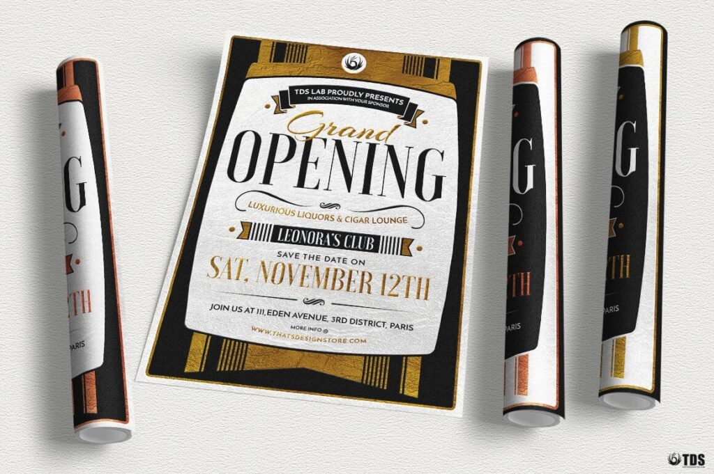 Grand Opening Flyer Template (2)