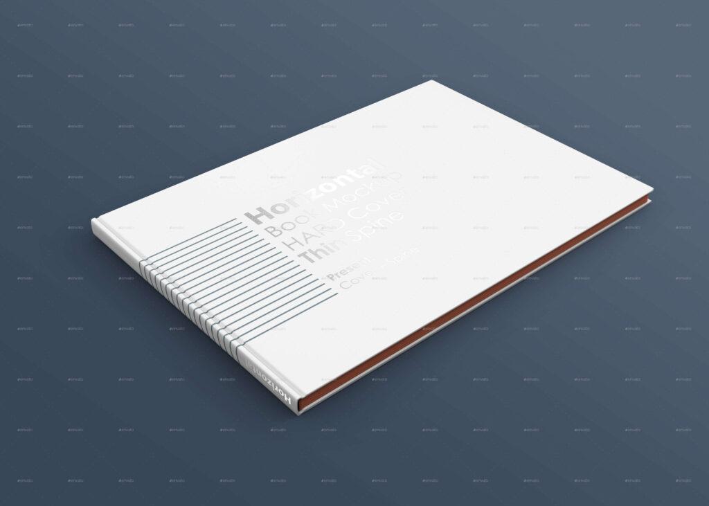 Horizontal A4 Book Mockup (1)