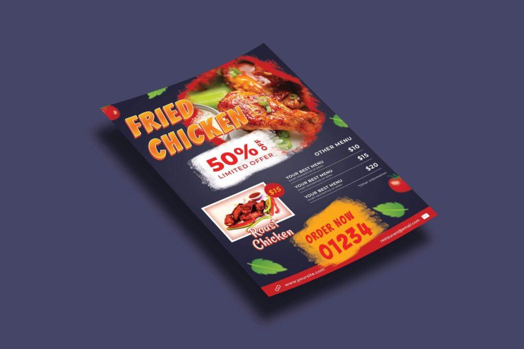 Hot Fried Chicken – Flyers Template (1)