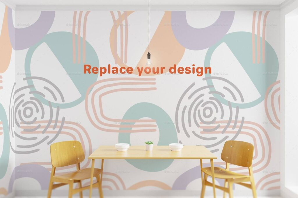 Interior Art wall Mockup (2)
