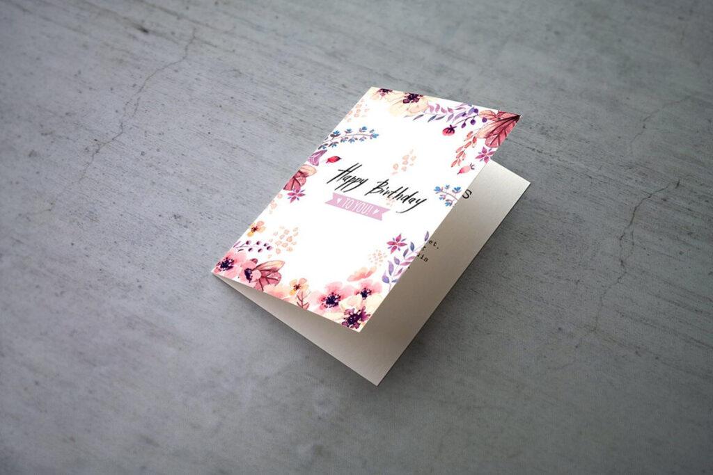 Invitation & Greeting Card Mockups (1)