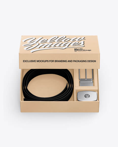 Kraft Belt Box Mockup (1)
