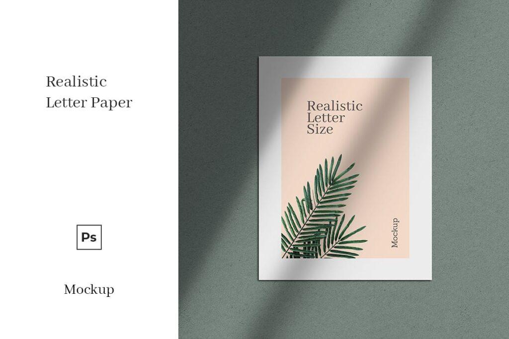 Letter Paper Mockup (1)