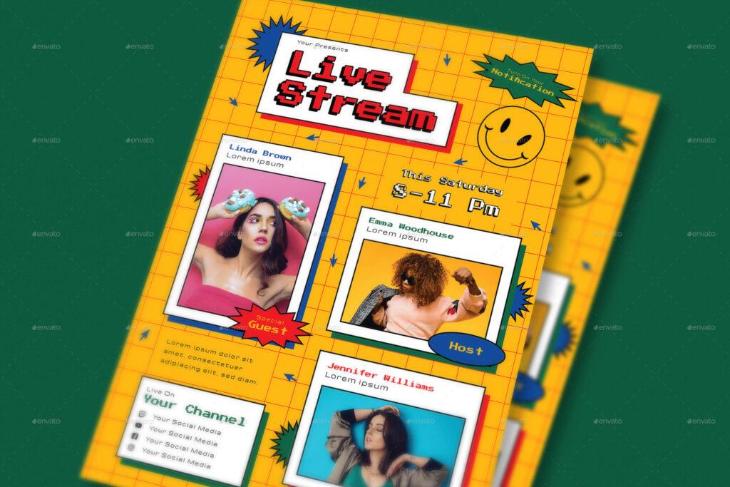 Live Stream Flyer Pack (1)
