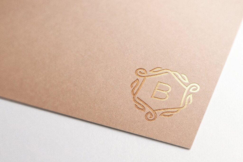 Logo Mockup Craft Paper - 4 Styles (1)