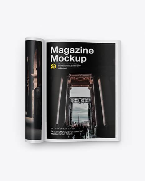 Matte A4 Magazine Mockup (1)
