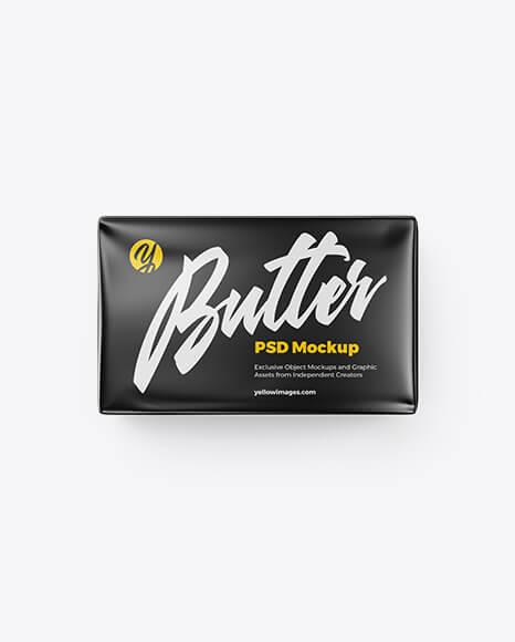 Matte Butter Block Mockup (1)