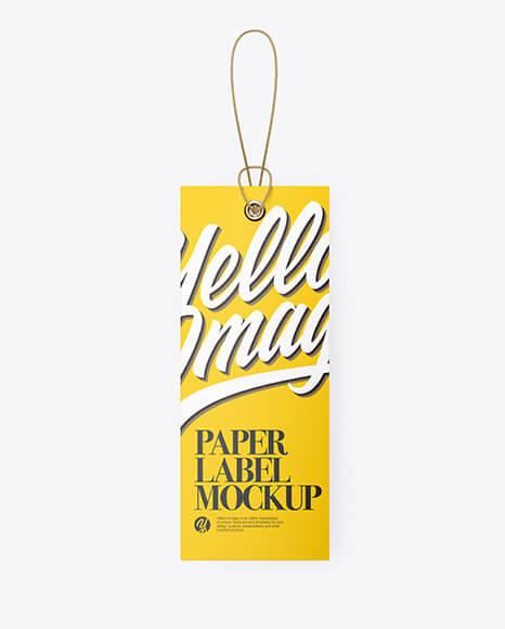 Matte Hang Tag Label Mockup (1)