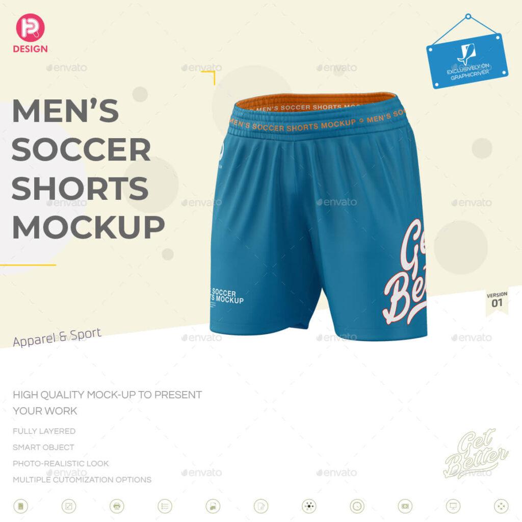 Men's Soccer Shorts Mockup V1 (1)