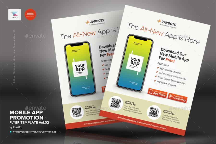 Mobile App Promotion Flyers Vol.02 (1)