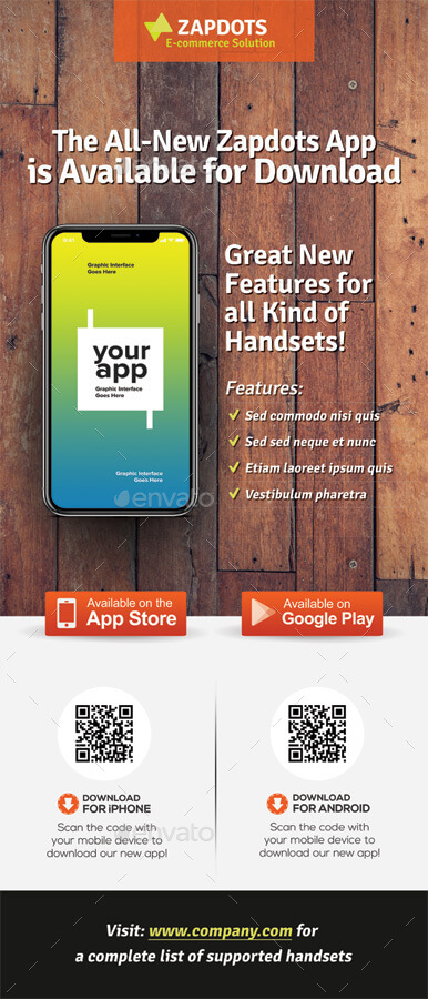 Mobile App Promotion Roll-up Banners Vol.02 (1)