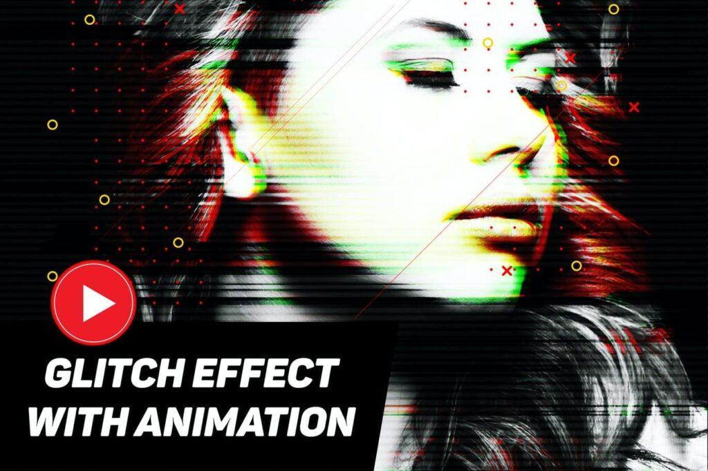 Modern Glitch with GIF Animation (1)