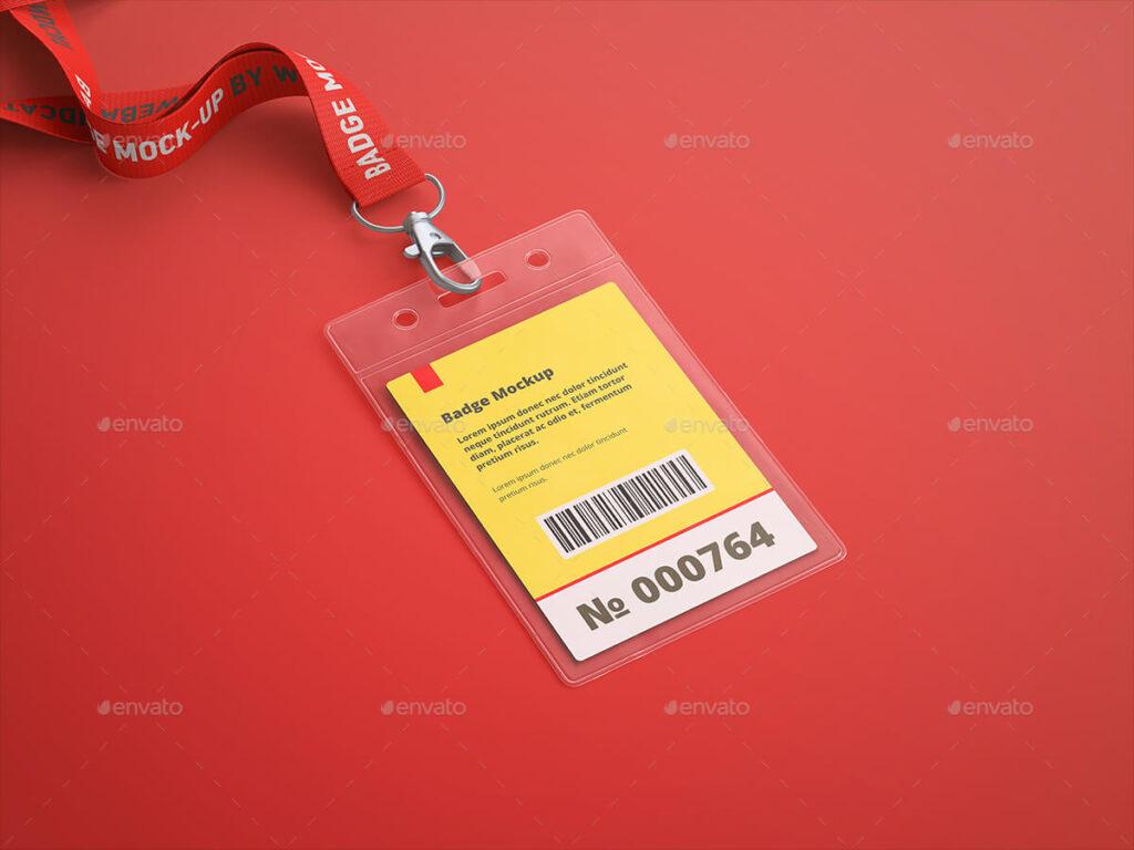 Name Tag Badge Mock-up (2)
