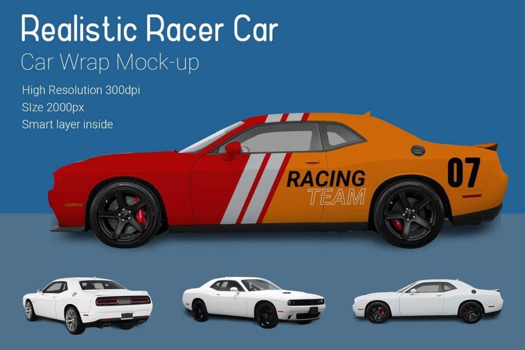 Nascar Racer Car Mock-Up (1)