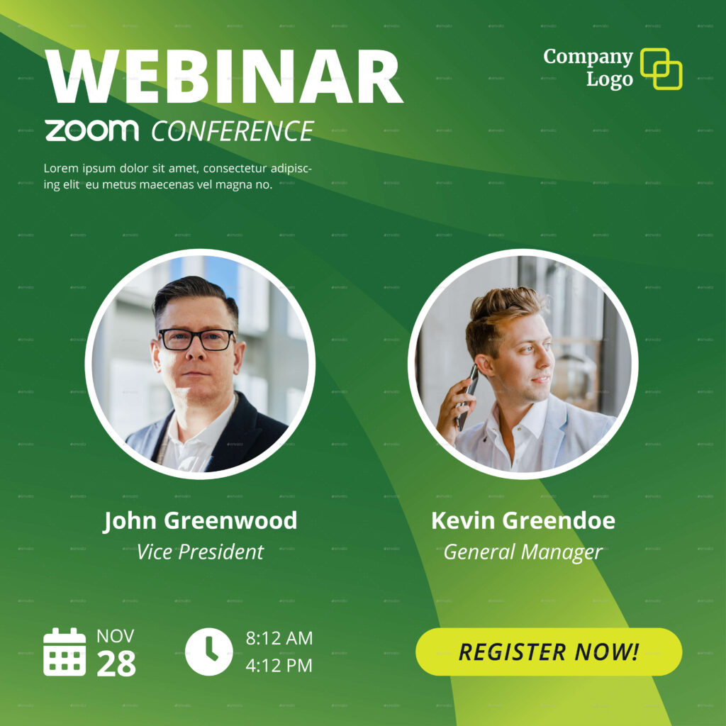 Online Webinar Live Zoom Instagram Story and Feed Template (1)