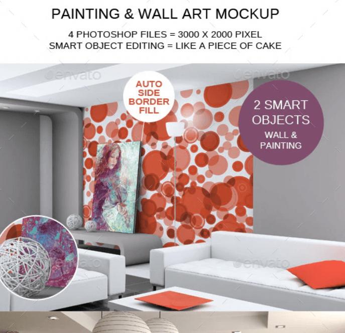 Painting & Wall Art Mockup