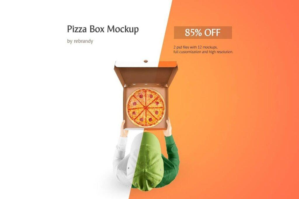 Pizza Box Mockup (12)