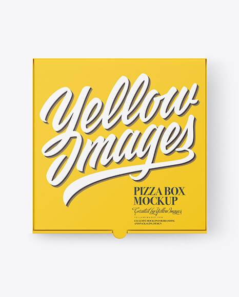 Pizza Box Mockup (3)
