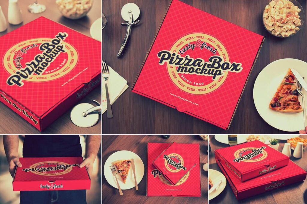 Pizza Box Mockups (1)